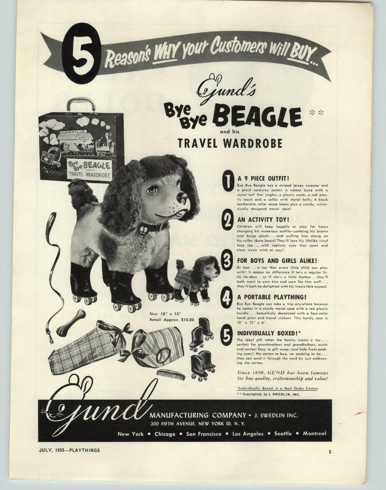 Bye bye beagle ad