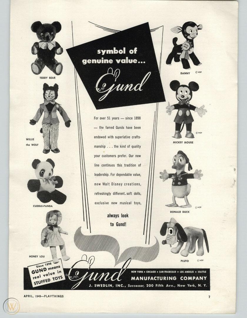 Gund ad