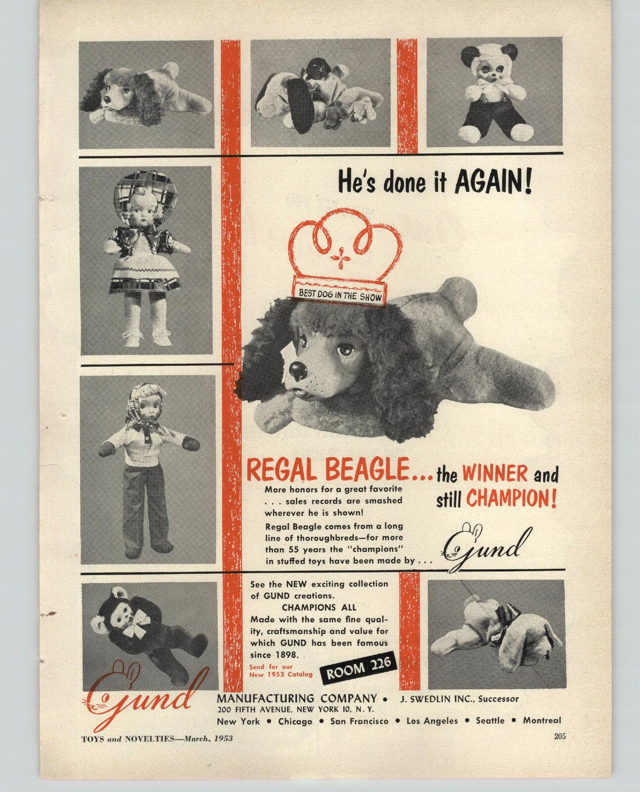 Regal beagle ad